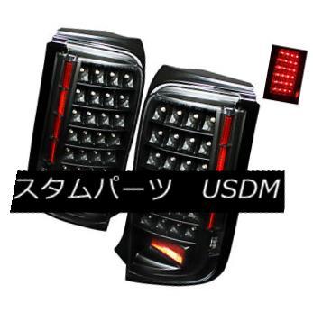 テールライト Scion 08-10 Xb LED Black Rear Tail Brake Lights Lamps Left & Right Side シオン08-10 Xb LEDブラックリアテールブレーキライトランプ左& 右側