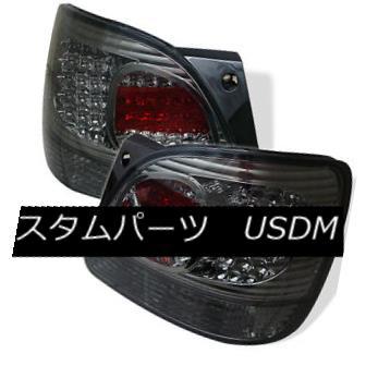 テールライト 98-05 Lexus GS300 GS400 GS430 Smoke LED Rear Tail Lights Brake Lamp Base Sedan 98-05レクサスGS300 GS400 GS430スモークLEDリアテールライトブレーキランプベースセダン