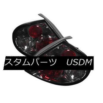 テールライト Dodge 00-02 Neon Smoke Euro Style Rear Tail Lights Brake Lamp Set ドッジ00-02ネオンスモークユーロスタイルリアテールライトブレーキランプセット