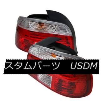 テールライト BMW 5-Series 97-00 Red Clear Rear Tail Lights Set Lamp 528i 530i 540i M5 BMW 5シリーズ97-00レッドクリアリアテールライトセットランプ528i 530i 540i M5