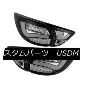 テールライト Mazda 13-15 CX5 CX-5 Black LED Rear Tail Lights Brake Lamp Set GT GS Sport S i マツダ13-15 CX5 CX-5ブラックLEDリアテールライトブレーキランプGT GSスポーツS i