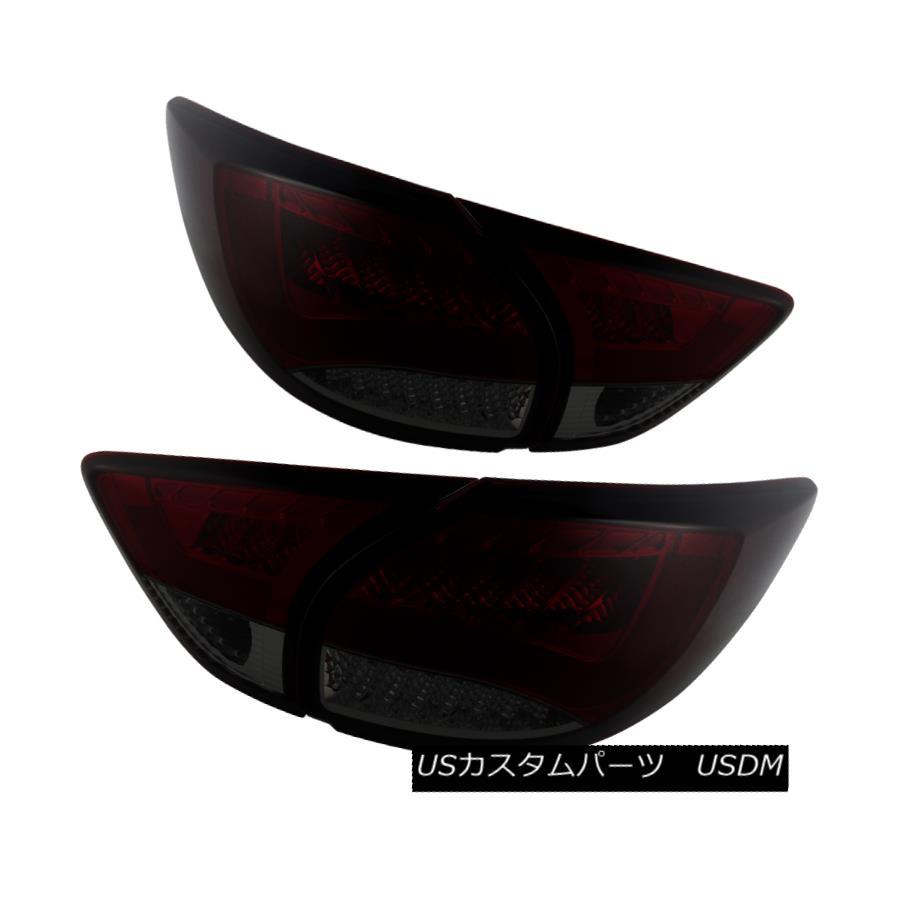 テールライト Mazda 13-15 CX5 CX-5 Red Smoke LED Rear Tail Lights Brake Lamp GT GS Sport S i マツダ13-15 CX5 CX-5レッド煙LEDリアテールライトブレーキランプGT GSスポーツ