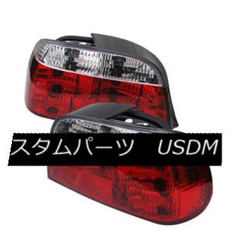 テールライト BMW 7-Series 95-01 Red Clear Rear Tail Lights Set Brake Lamp 740i 740iL 750iL BMW 7-シリーズ95-01レッドクリアリアテールライトブレーキランプ740i 740iL 750iL