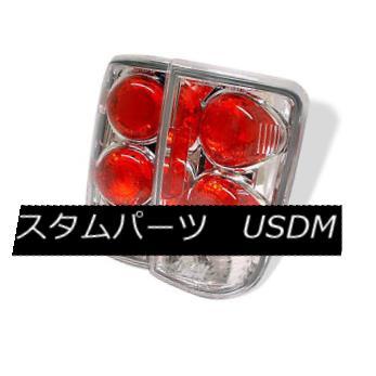 テールライト Chevy 95-05 Blazer Jimmy Bravada Chrome Euro Style Rear Tail Lights Set Lamp シェビー95-05ブレザージミーブラバダクロームユーロスタイルリアテールライトセットランプ