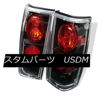 テールライト Chevy/GMC 82-93 S10/Blazer/Jimmy/Sonoma Black Rear Tail Light Brake Lamp Set Chevy / GMC 82-93 S10 / Blazer / Jim my / Sonoma Blackリアテールライトブレーキランプセット