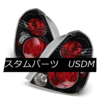 テールライト Fit Nissan 02-06 Altima Black Factory Style Tail Brake Lights Set S SE SE-R SL フィット日産02-06アルティマブラック工場スタイルテールブレーキライトセットS SE SE-R SL