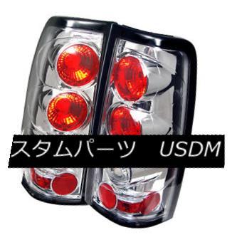テールライト Chevy/GMC 03-06 Silverado/Sierra Chrome Rear Tail Lights Brake Lamp Euro Style Chevy / GMC 03-06 Silverado / Sier raクロームリアテールライトブレーキランプユーロスタイル