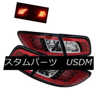 テールライト Mazda 03-08 6 Sedan Hatchback 4dr LED Rear Tail Lights Brake Lamps Pair Set マツダ03-08 6セダンハッチバック4dr LEDリアテールライトブレーキランプペア