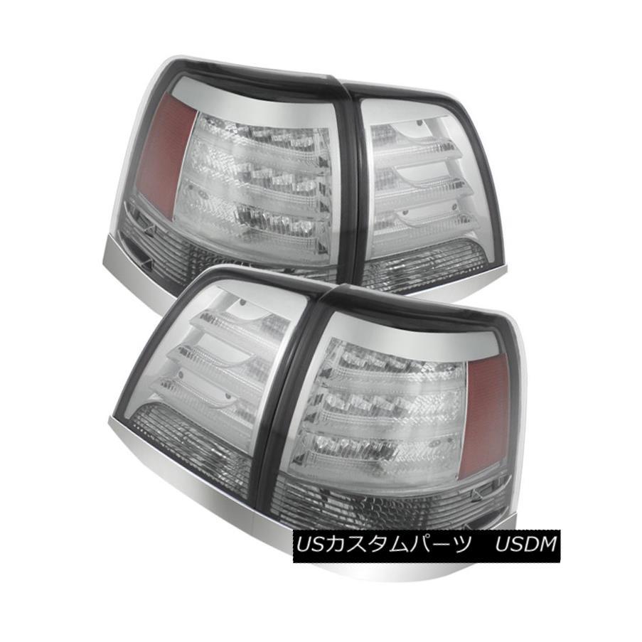 車用品 バイク用品 >> パーツ ライト ランプ テールライト Toyota 08-11 Land Cruiser Sport Chrome V2 トヨタ08-11ランドクルーザークロームLEDリアテールライトランプセットベーススポーツV2 Lamp Set LED Lights Base Tail Rear 美品 ☆新作入荷☆新品