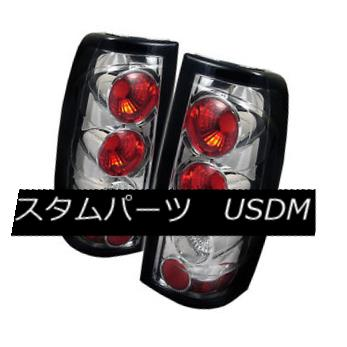 テールライト Chevy/GMC 99-02 Silverado/Sierra 1500/2500/3500 Chrome Rear Tail Lights Set G2 Chevy / GMC 99-02 Silverado / Sier ra 1500/2500/3500クロームリアテールライトセットG2