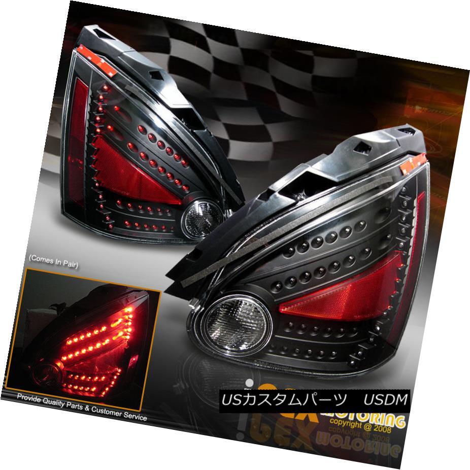 テールライト NEW For All 2004-2008 Nissan Maxima ULTRA Bright LED Tail Lights Black すべての2004-2008年の新型日産マキシマULTRA Bright LEDテールライトブラック