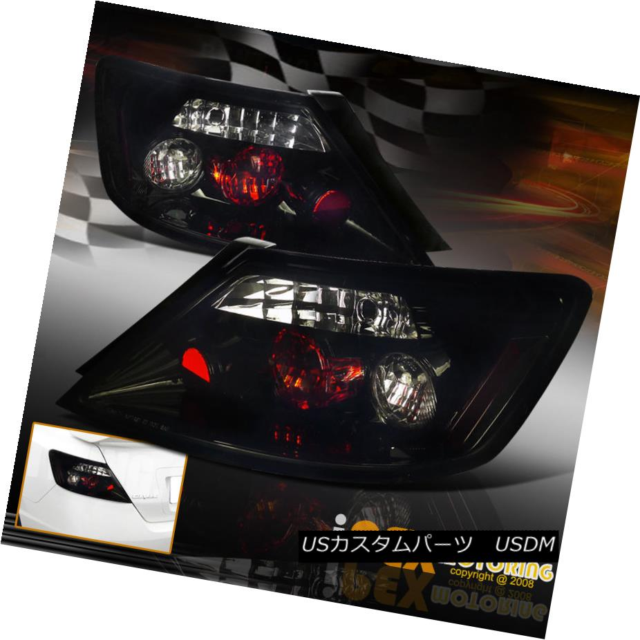 テールライト [ BlackOut ] 2006-2011 Honda Civic 2Dr Coupe JDM Dark Smoke Tail Lights FG [BlackOut] 2006-2011ホンダシビック2DrクーペJDMダークスモークテールライトFG
