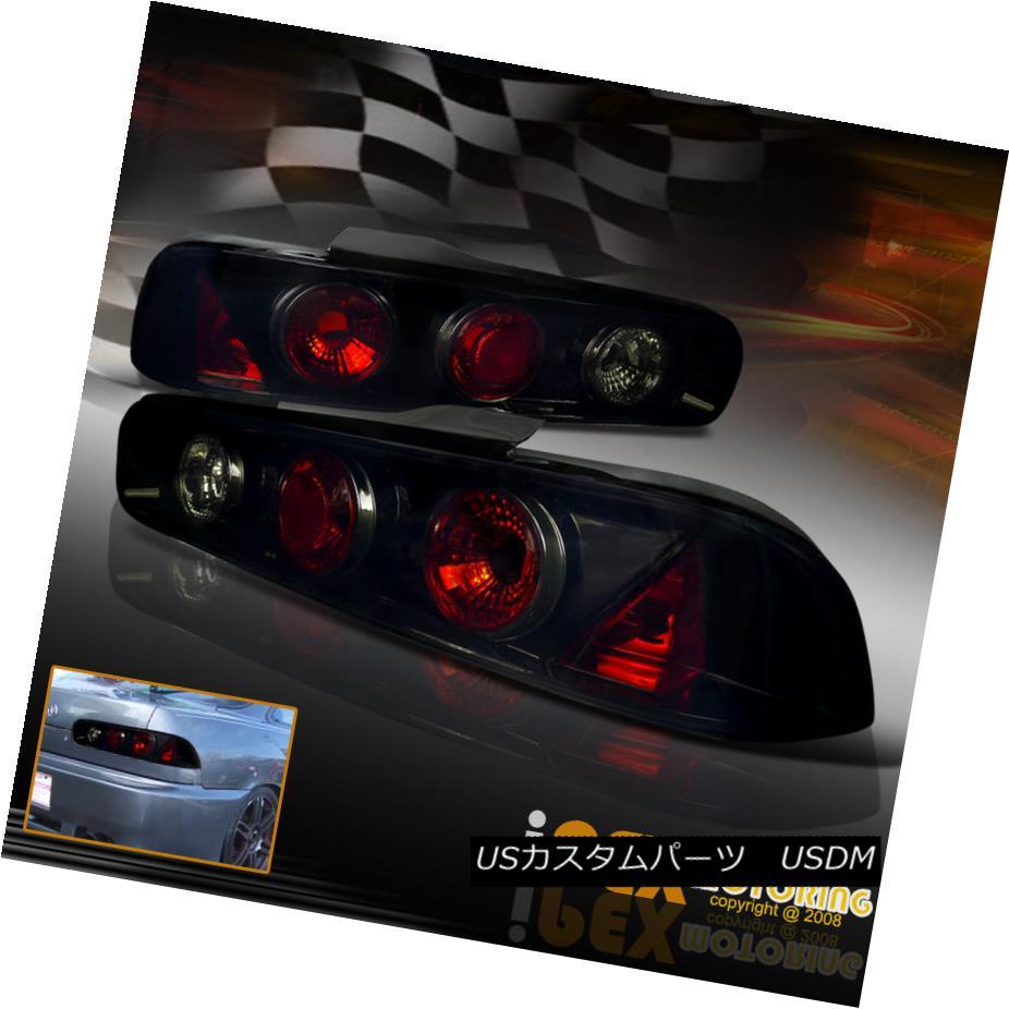 テールライト 1994-2001 Acura Integra 2Dr Coupe Limited Edition Smoke Lens Black Tail Light 1994-2001 Acura Integra 2Dr Coupe限定版スモークレンズブラックテールライト