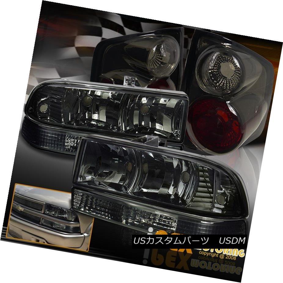 テールライト Tail 1998-2004 Chevy S10 Smoke Euro Bumper Headlights W S10/ Bumper Signals + Smoke Tail Lights 1998-2004シボレーS10煙ユーロヘッドライトW/バンパーシグナル+煙テールライト, ワイン蔵 まるほん:81a83a13 --- officewill.xsrv.jp