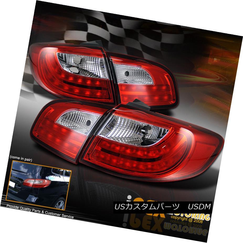 テールライト (ULTIMATE LED) 2007-2011 SANTA FE GL/GLS/SE/LIMITED RED Rear Tail Lights Lamp (ULTIMATE LED)2007-2011サンタフェGL / GLS / SE /限定 TED REDリアテールライトランプ