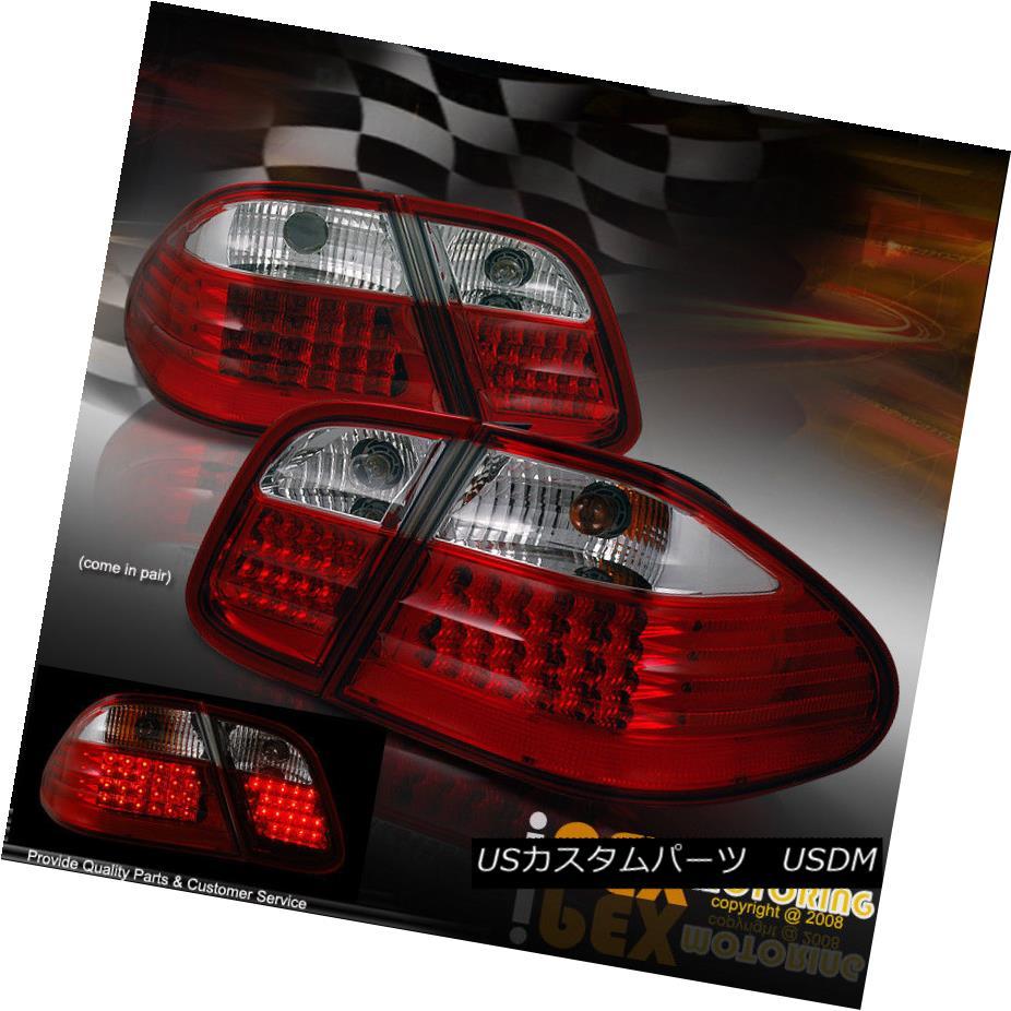 テールライト 1998-2002 Mercedes Benz CLK W208 CLK320/CLK430/CLK55 LED Tail Light+Harness Kit 1998-2002 Mercedes Benz CLK W208 CLK320 / CLK430 / CLK55 LEDテールライト+ハーネスキット