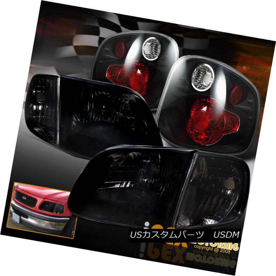 テールライト 2001-2003 + Ford F150 SVT Lightning SVT/King Light Ranch Black-Smoked Headlight + Tail Light 2001-2003フォードF150 SVTライトニング/キングランチブラックスモークヘッドライト+テールライト, 吉野鶏めし:af24351a --- officewill.xsrv.jp