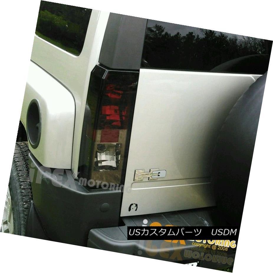 テールライト 2005 2006 2007 2008 Hummer H3 Red Smoke Tail Light Brake Lamps 2005 2006 2007 2008 Hummer H3レッド煙テールライトブレーキランプ