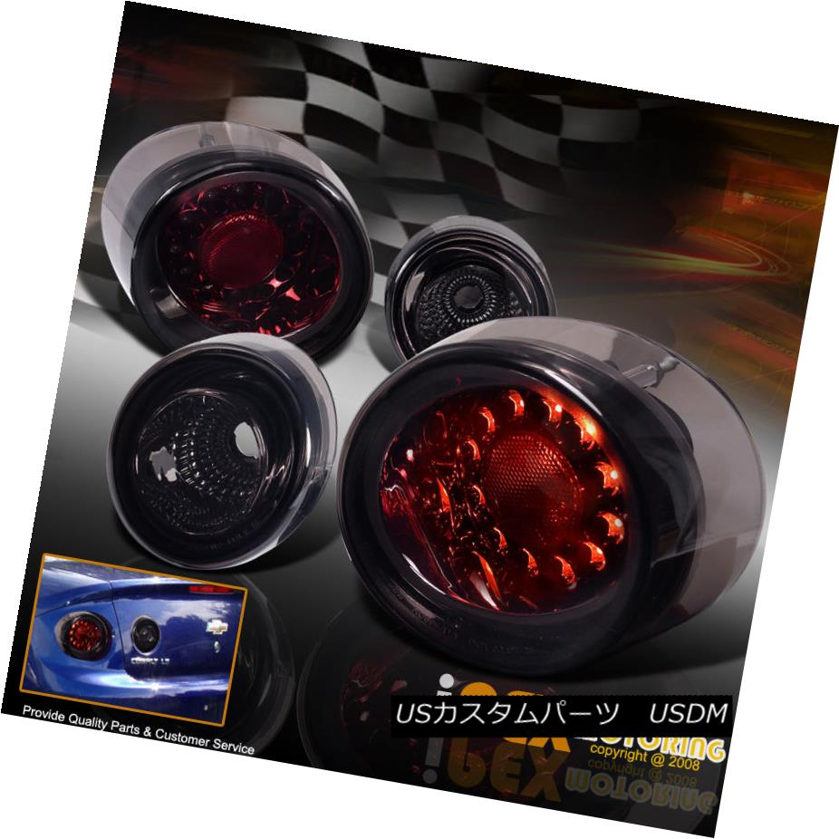 テールライト Bright 2005-2010 Chevy Cobalt 2Dr 4Piece Bright LED Tail Lights Tail Lights