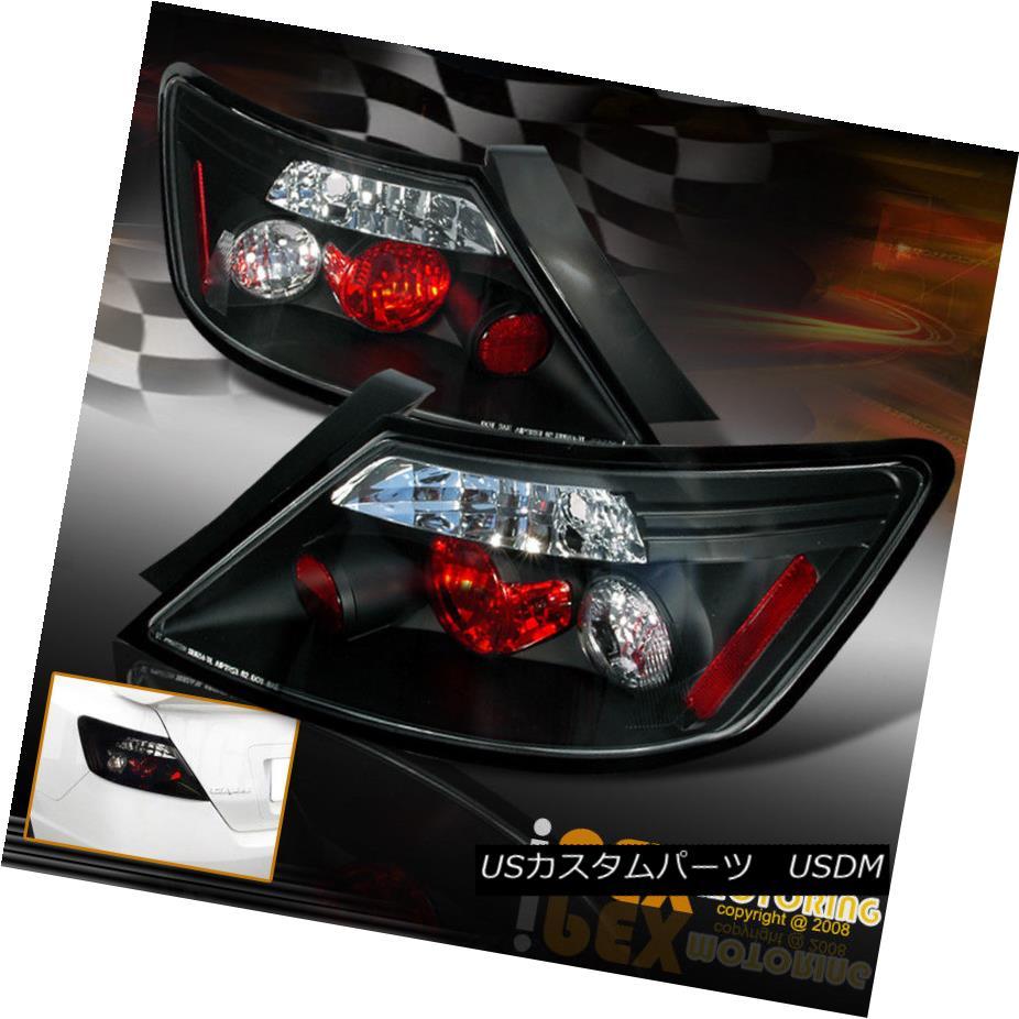 テールライト For 2006-2011 Honda Civic 2Dr Coupe FG JDM Black Type-R Style Tail Lights Lamp 2006 - 2011年ホンダシビック2DrクーペFG JDMブラックタイプ-Rスタイルテールライトランプ