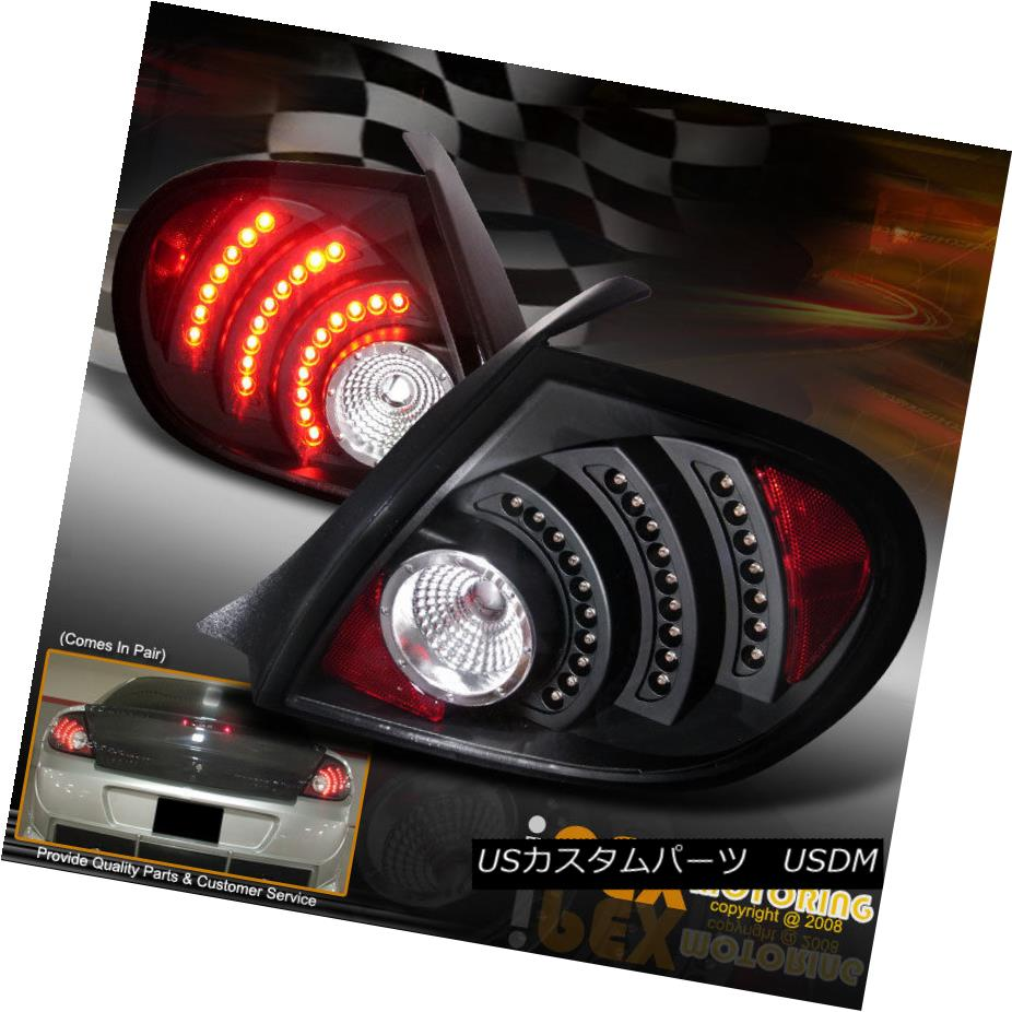 テールライト (Black) Bright 2003 2004 2005 Dodge Neon SRT-4 RT SXT SE LED Tail Lights (ブラック)Bright 2003 2004 2005 Dodge Neon SRT-4 RT SXT SE LEDテールライト