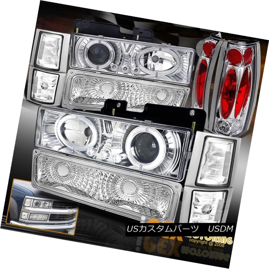 テールライト 94-98 GMC GMC Sierra Yukon [10PCS] Halo Projector LED Projector LED Headlights+Signals+Tail Light 94-98 GMC Sierra Yukon [10PCS] HaloプロジェクターLEDヘッドライト+ Sig nals +テールライト, ウゴマチ:b99aab22 --- officewill.xsrv.jp