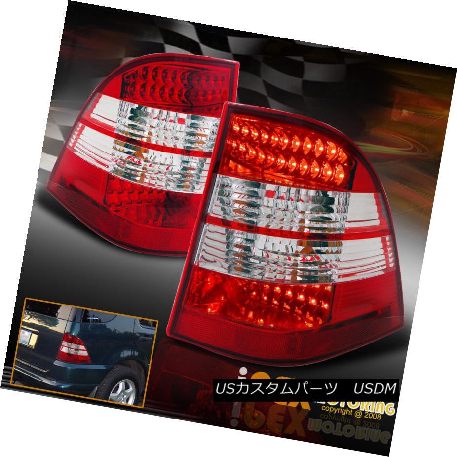 テールライト NEW 1998-2005 Mercedes Benz W163 ML-Class LED Tail Lights Red Plug N Play NEW 1998-2005メルセデスベンツW163 MLクラスLEDテールライトレッドプラグN Play
