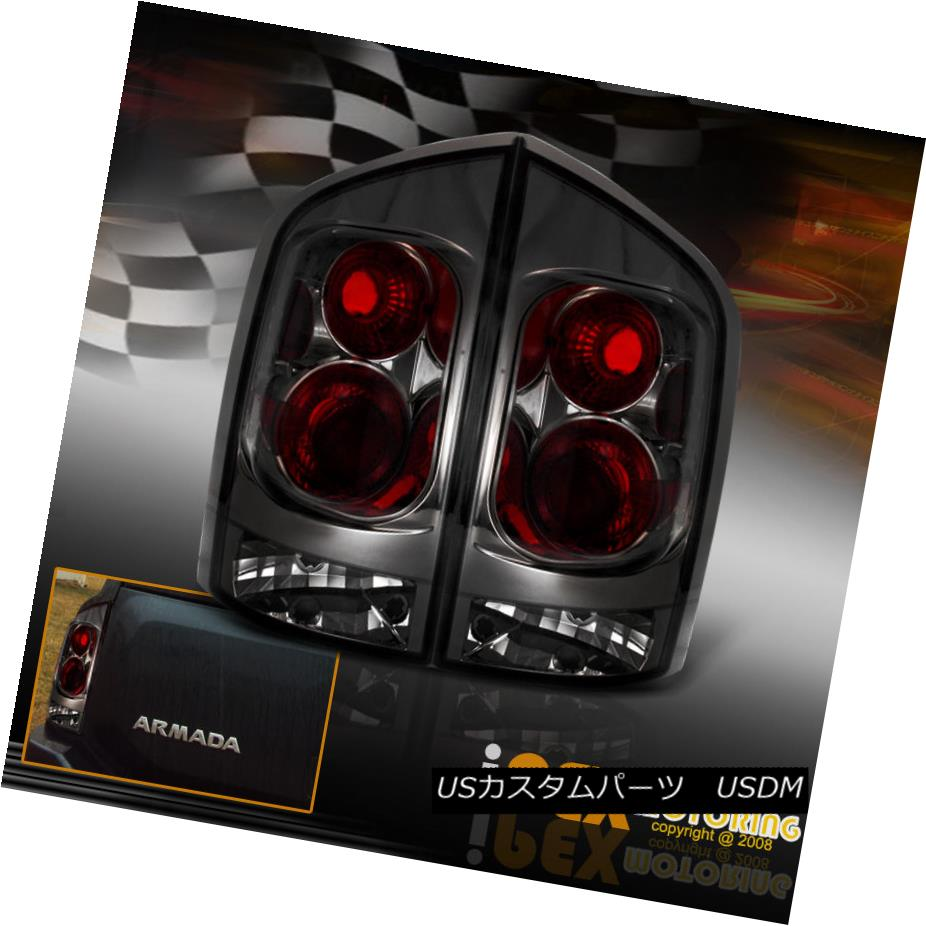 テールライト For 2005-2012 Nissan Armada Dark Smoke Tail Lights New With Free Shipping 2005 - 2012年日産アルマダダークスモークテールライト新品送料無料