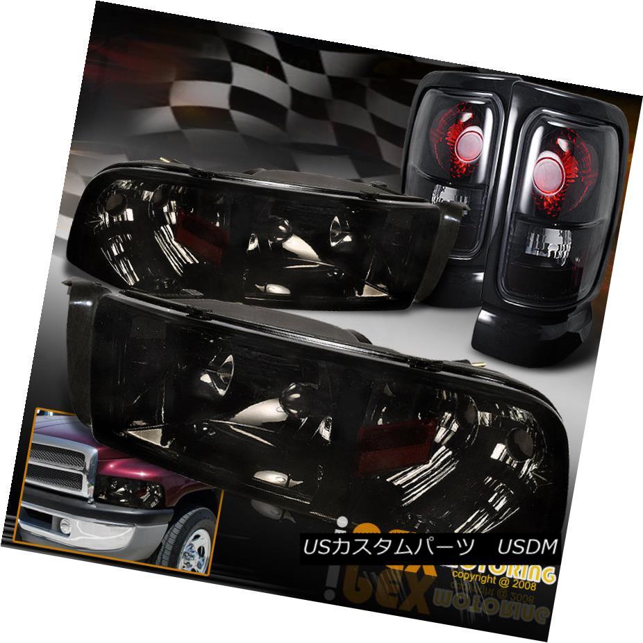 テールライト Dodge Ram Tail 1500 2500 3500 (Shiny Black-Smoked Smoke) Headlights 2500 + Black-Smoked Tail Tail Light ダッジラム1500 2500 3500(シャイニースモーク)ヘッドライト+ブラックスモークテールテールライト, 店舗良い:23013408 --- officewill.xsrv.jp