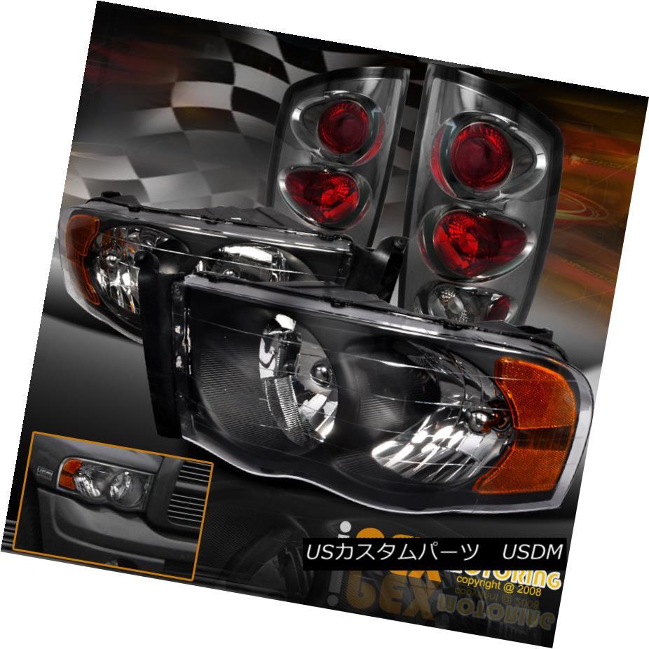 テールライト [ BLACK 2500 ] Ram 2002-2005 Dodge + Ram 1500 2500 3500 Headlights + [ Smoke ] Tail Lights [BLACK] 2002-2005 Dodge Ram 1500 2500 3500ヘッドライト+ [煙]テールライト, 上屋久町:668b911e --- officewill.xsrv.jp