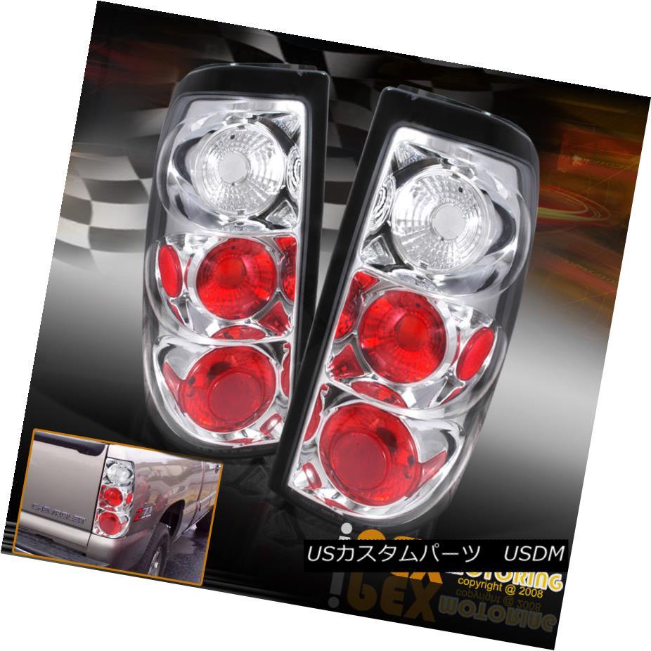 テールライト 2003-2006 Chevy Silverado 1500 2500 2500HD GMC Sierra Chrome Tail Lights Lamps 2003-2006シボレーシルバラード1500 2500 2500HD GMCシエラクロームテールライトランプ