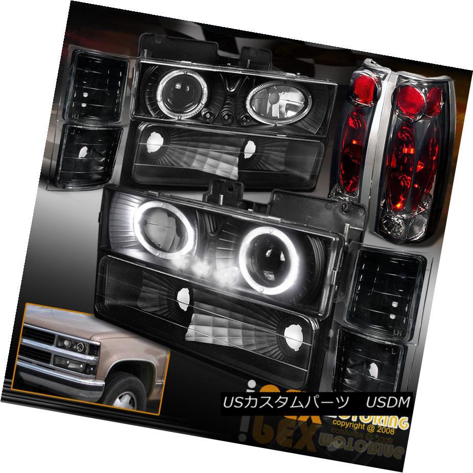 テールライト 94-98 Chevy Tahoe Silverado Silverado 10PC eテールライト Halo Projector Tahoe Black Headlight+Smoke Tail Light 94-98 Chevy Tahoe Silverado 10PC Haloプロジェクターブラックヘッドライト+スモーク eテールライト, BLACKANNY:f203abad --- officewill.xsrv.jp