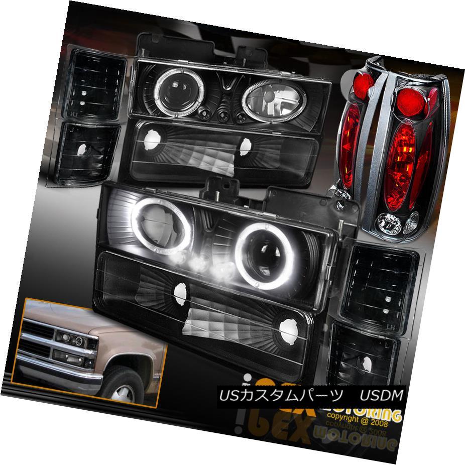 テールライト 94-98シボレーC 94-98 Chevy C Chevy/K1500 Suburban [10PC] Projector Headlights LED Headlights + Tail Lights Black 94-98シボレーC/ K1500郊外[10PC]プロジェクターLEDヘッドライト+テールライトブラック, サッカーショップスポーツランド:a8165769 --- officewill.xsrv.jp