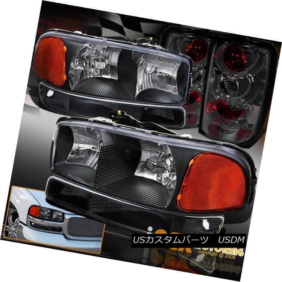 テールライト 2000-2006 6pcs Set Black: Black: 2000-2006 GMC Yukon Headlight Yukon + Signal Light + Smoke Tail Light 6個セットブラック:2000-2006 GMCユーコンヘッドライト+シグナルライト+煙テールライト, 楽天ビック:9e9fd285 --- officewill.xsrv.jp