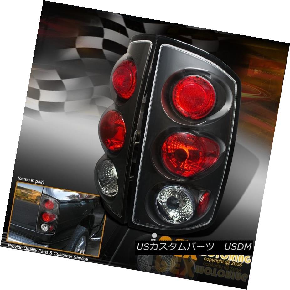 テールライト NEW For 2002-2006 Dodge Ram 1500 2500 3500 Black Euro Tail Lights 2002-2006年のNEW Dodge Ram 1500 2500 3500ブラックユーロテールライト