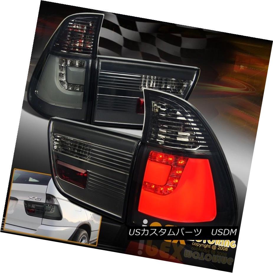 テールライト New For 2000-2006 BMW X5 E53 SUV Red LED Tail Light Smoke Lens 4-Pieces Set Lamp BMW X5 E53 SUVレッドLEDテールライトスモークレンズ4点セットランプ