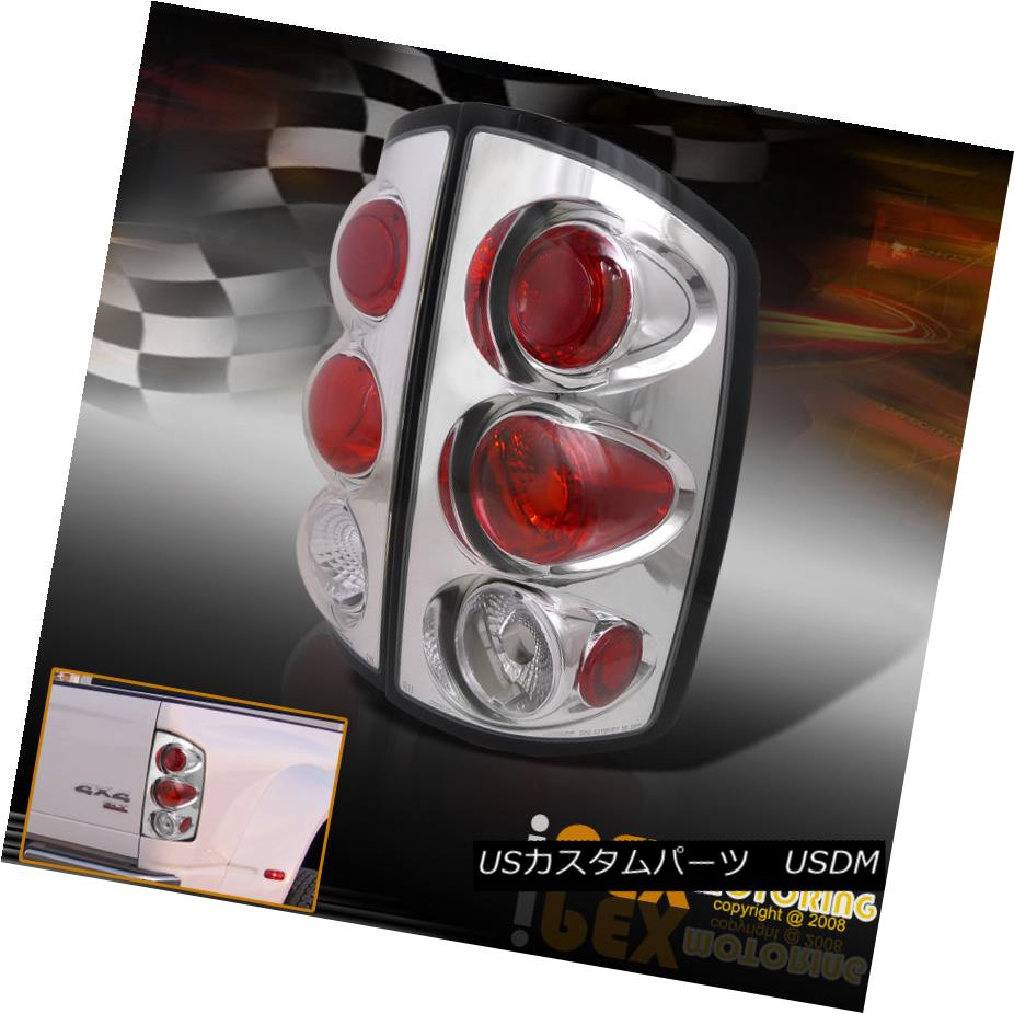 テールライト Dodge 2002-2006 Ram All Models [ 1500 2500 3500 ] Chrome Tail Lights Lamps Dodge 2002-2006 Ram All Models [1500 2500 3500]クロームテールライトランプ