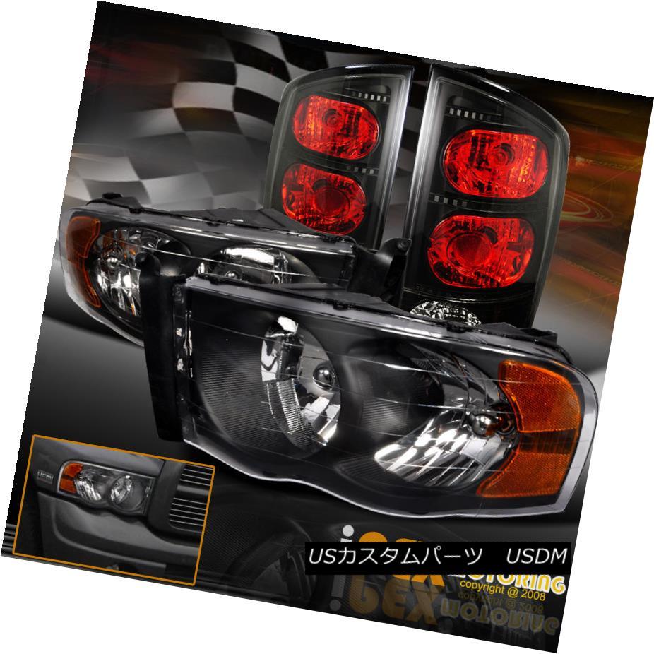 テールライト 2002-2005 Dodge RAM 1500 Tail 1500 2500 3500 Black テールライト Headlight + Black-Smoke Tail Light+Bulb 2002-2005ダッジRAM 1500 2500 3500ブラックヘッドライト+ブラックスモークテールライト+電球, タカシマグン:1f3bcf85 --- officewill.xsrv.jp