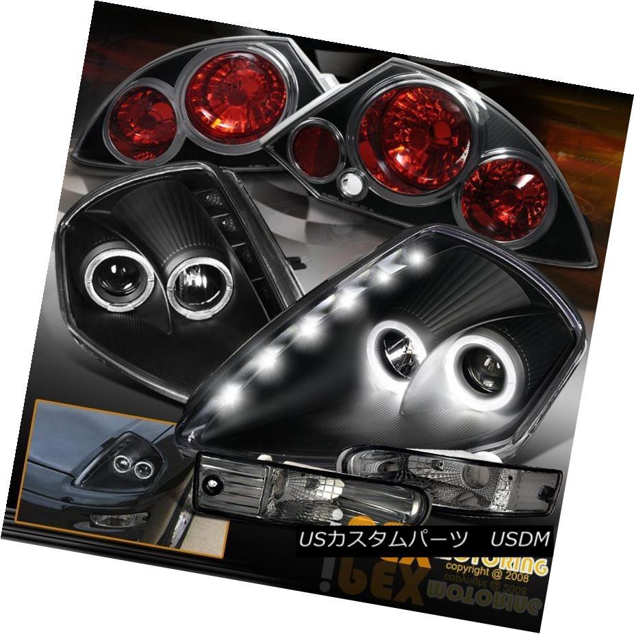 テールライト Mitsubishi Eclipse Halo Projector LED Headlight + Signal Light+ Tail Light Black 三菱Eclipse HaloプロジェクターLEDヘッドライト+信号ライト+テールライトブラック