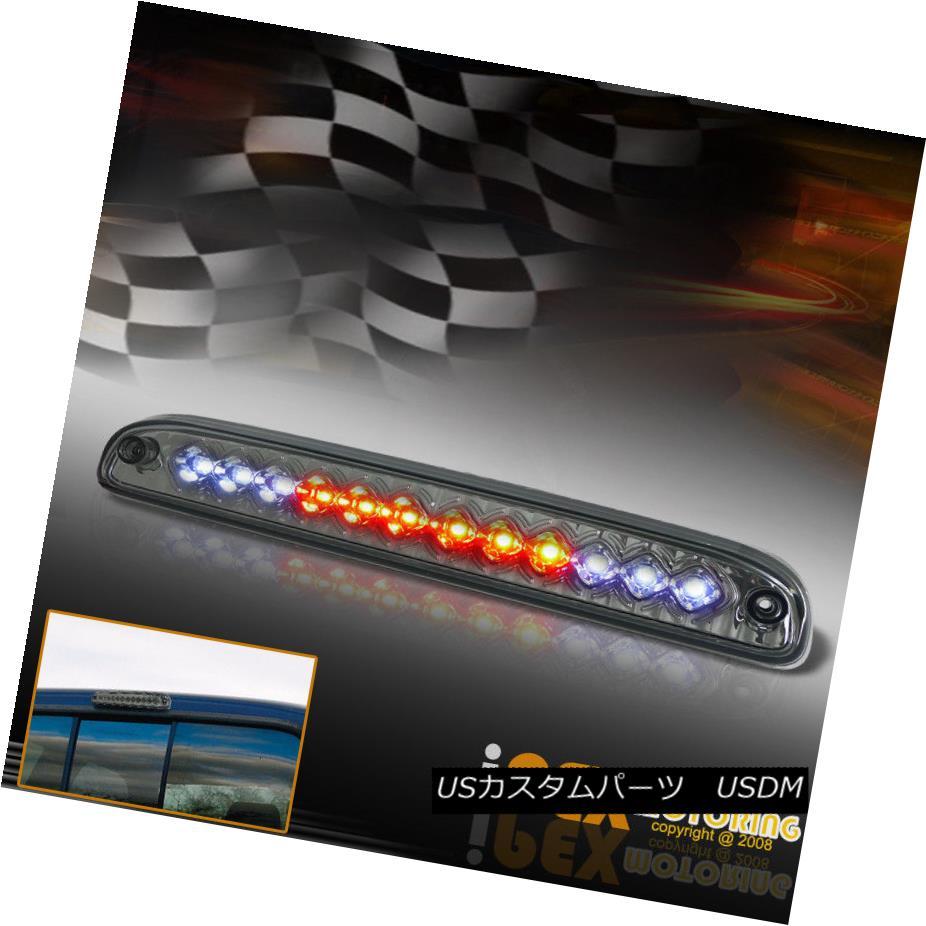テールライト 1999 - 2012 FORD F250 F350 F450 F550 CHROME CLEAR LED 3RD BRAKE LIGHT LAMP RED 1999 - 2012フォードF250 F350 F450 F550クロームクリアLED 3速ブレーキライトランプ赤