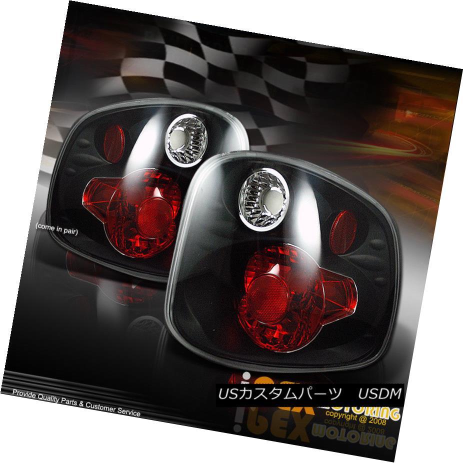 テールライト *NEW* 2001-2003 Ford F150 FLARESIDE SUPERCREW Black Euro Style Tail Light Lamps * NEW * 2001-2003 Ford F150 FLARESIDE SUPERCREWブラックユーロスタイルテールライトランプ