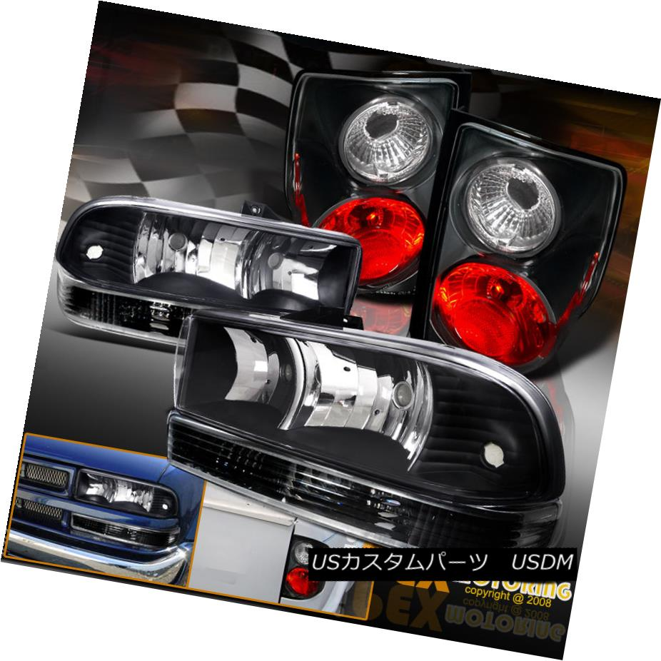 テールライト 1998-2004 Chevy S10 [COMPLETE 6PC] Black 1998-2004 Headlights Signal + [COMPLETE Tail Lights + Signal Lamps 1998-2004 Chevy S10 [完全6PC]ブラックヘッドライト+テールライト+シグナルランプ, 芦北町:3fb63fb5 --- officewill.xsrv.jp