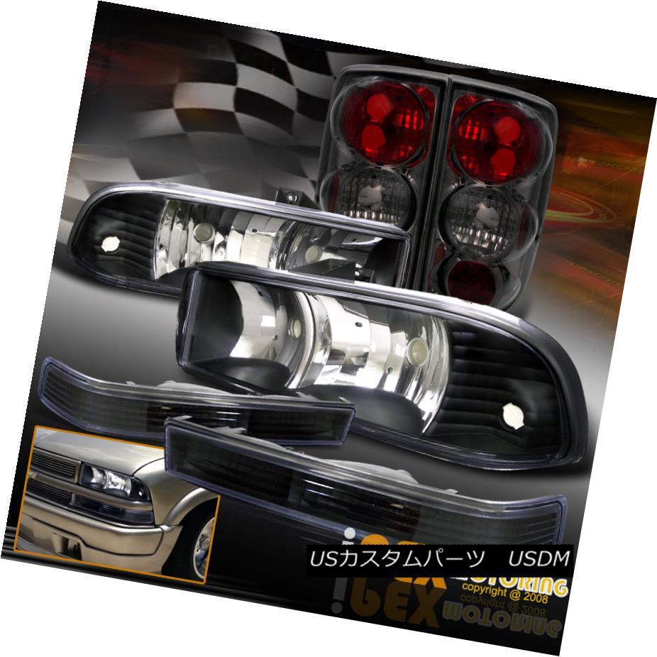 テールライト テールライト Signal NEW Light+Smoke For 1998-2004 Chevy Blazer Black Headlights + Signal Light+Smoke Tail Lights NEW 1998-2004シボレーブレイザーブラックヘッドライト+シグナルライト+スモークテールライト, ワールドサイクル ウェアハウス:ede861db --- officewill.xsrv.jp
