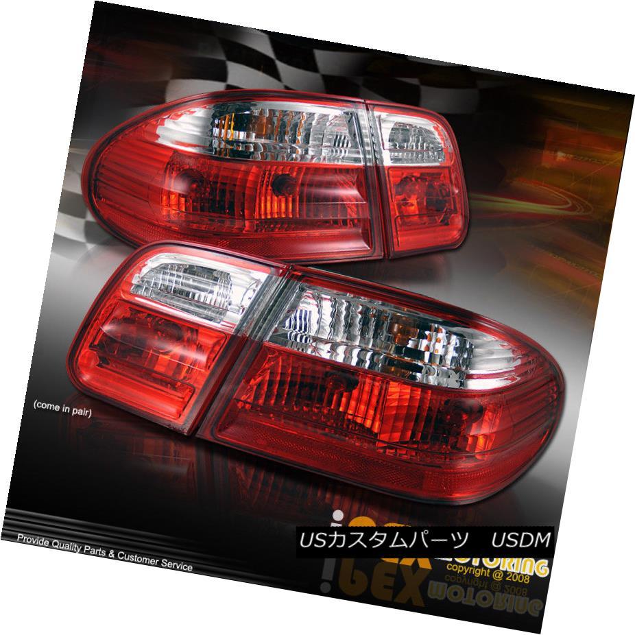 テールライト [Bulbs Incl] 1996-2002 Mercedes Benz W210 E-Class E320/E420 Tail Light Lamp [電球を含む] 1996-2002メルセデスベンツW210 EクラスE320 / E420テールライトランプ