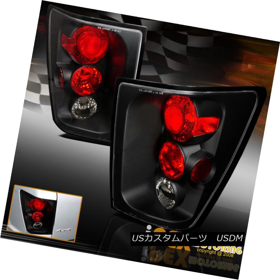 テールライト FAST-N-FREE 2005-2006 Jeep Grand Cherokee Tail Lights Black Driver + Passenger FAST-N-FREE 2005-2006ジープグランドチェロキーテールライトブラックドライバー+パッセンジャー