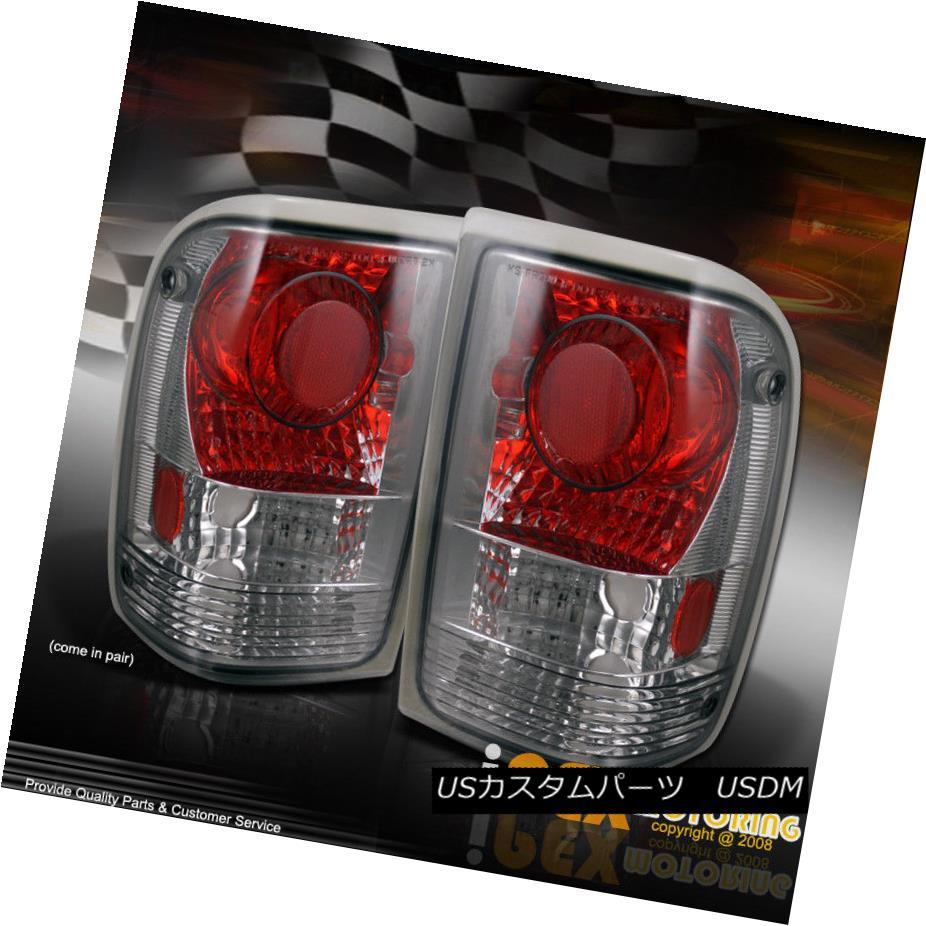 テールライト 1993-1997 Ford Ranger [Lightly Tinted Smoke Lens] Euro Tail Lights Lamps 1993-1997 Ford Ranger [軽く着色された煙のレンズ]ユーロテールライトランプ