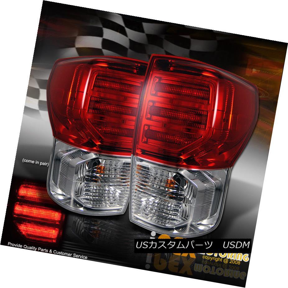 テールライト (Bulbs Included) 07-12 Toyota Tundra Plug N Play LED Tail Light Brake Lamps Pair (球根含む)07-12トヨタトンドラプラグN LEDテールライトブレーキランプペアをプレイ