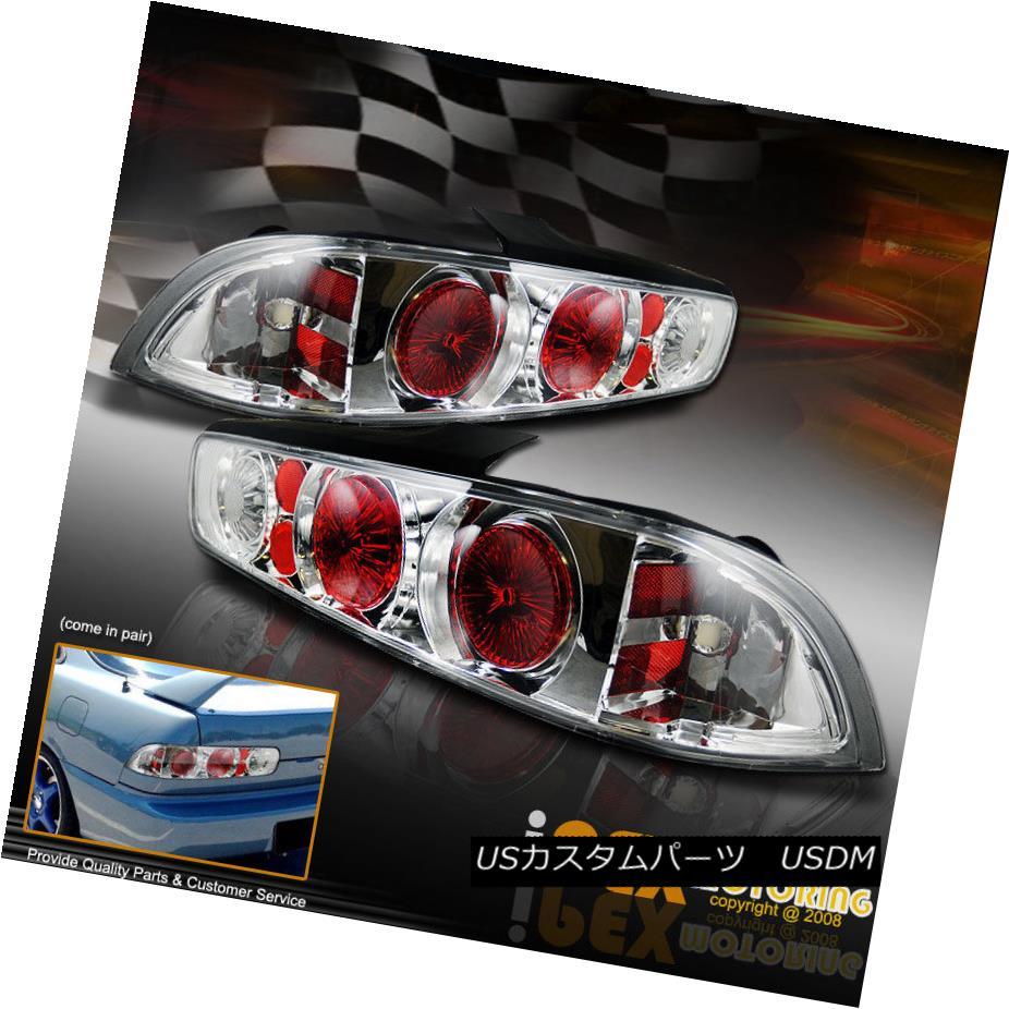 テールライト 94-01 Acura Integra Hatch Coupe Chrome Altezza Style Rear Brake Lamp Tail Light 94-01アキュラインテグラハッチクーペクロームアルテッツァスタイルリアブレーキランプテールライト