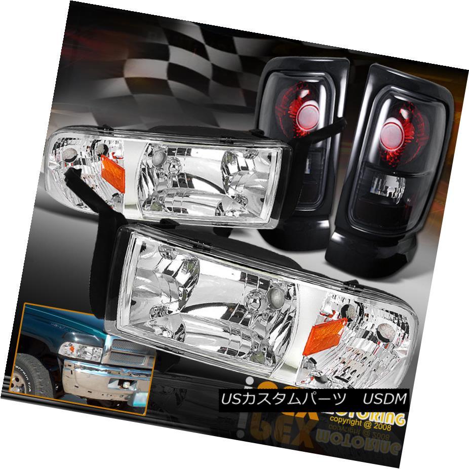 テールライト 1994-2001 Shiny Dodge Dar RAM 1500 2500 2500 3500 Shiny Chrome Headlights+Dark Smoke Tail Light 1994-2001 Dodge RAM 1500 2500 3500シャイニークロームヘッドライト+ Dar kスモークテールライト, カメラの大林:6cd81aea --- officewill.xsrv.jp