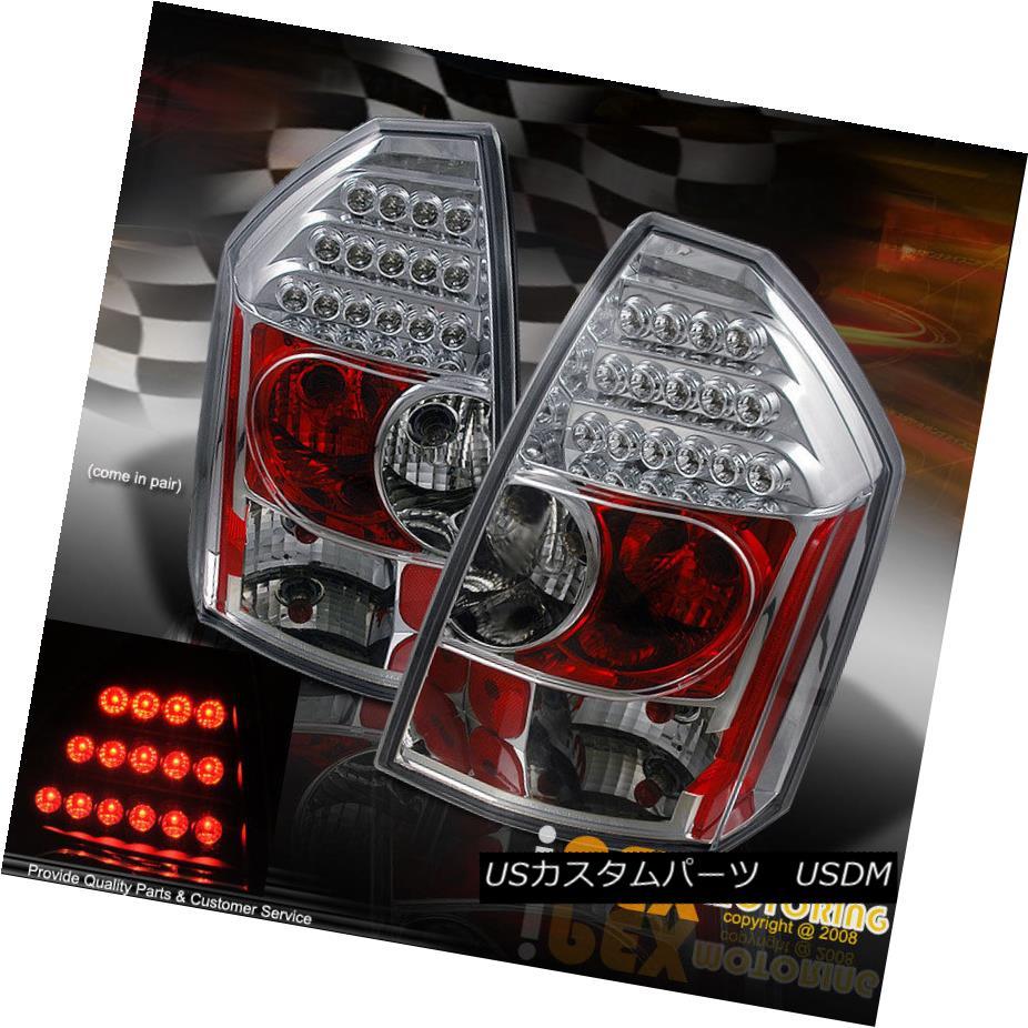 テールライト BRIGHTEST LED Chrome Tail Lights For 2005 2006 2007 Chrysler 300C/SRT-8 BRIGHTEST LEDクロームテールライト2005年2006年2007年クライスラー300C / SRT-8